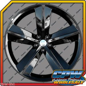 "22"" Gloss Black Wheels Rims Dodge Magnum Charger Challenger SRT Chrysler 300C"