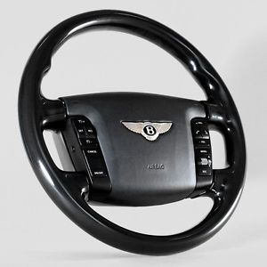 Bentley Continental GT GTC Piano Black Steering Wheel