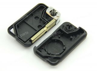 Remote Flip Folding Key Shell Case for Land Rover P38 Discovery Range 2 Buttons