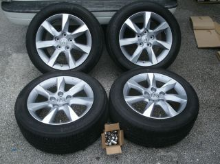 "17"" Acura TL Factory Wheels Tires 2012 Take Offs Brand New Rims Odyssey"