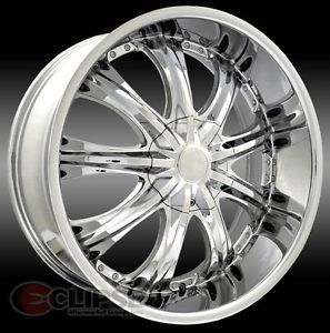 20 inch ELR15 Chrome Wheels Ford Taurus Thunderbird
