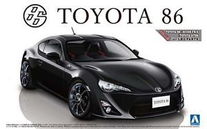 Aoshima 1 24 Model Sport Car Kit Toyota 86 ft GT 86 Scion Fr s w Custom Wheel