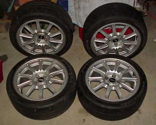 05 07 Subaru Impreza WRX STI BBs Wheels 225 45R17 Tires Rims Set of Four