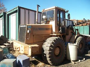 1988 Fiat Allis Wheel Loader FR12