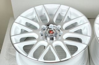 15 White Rims Wheel Chevy Cobalt Aveo Acura Integra CL Vigor Honda Civic CRX Rio