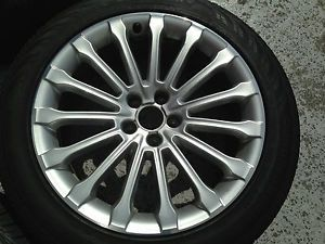 Audi A8 Wheels Tires 19 inch 15 Spoke Factory Rims