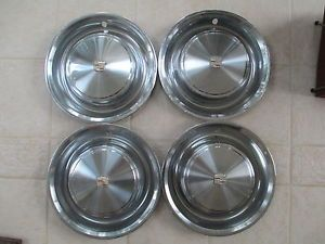 Set of Four 1973 Cadillac 15 inch Wheel Covers Hub Caps