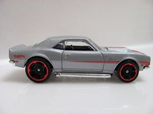 Hot Wheels 2012 Mystery Cars 03 '68 COPO Camaro Silver
