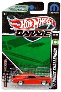 2011 Hot Wheels Garage 14 '71 Dodge Challenger Hal Jordan