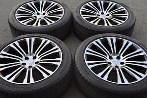 "20"" Chrysler 300 300S Black Wheels Rims Tires Factory Wheels 2013 2014"