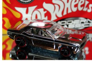 Hot Wheels Modern Classics 14 Dodge Challenger Concept Chrome