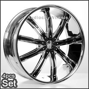"22""x8 Wheels Rims Lexus Impala Altima Camly Motecalo"