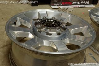 "2010 Ford F250 Super Duty 20"" Factory Wheels F350 Lariat Polished FX4"