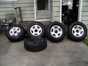 05 13 Ford F250 F350SD Factory 18 Wheels Tires Rims Conti 275 65 18