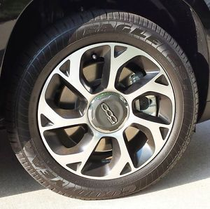 Fiat 500L Aluminum Wheels and Goodyear Eagle LS Tires Set of 4