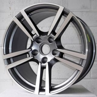 "19"" Porsche Boxster Coupe 04 09 Gun Pol Staggered Alloy Wheels 5x130"