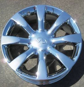 "4 New 20"" Infiniti FX45 FX35 Chrome Wheels Rims Murano Maxima M35 M45 FX50 73678"