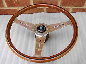 Jaguar XJ6 XJS Nardi Wood Steering Wheel Nice