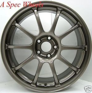17x8 Rota G Force Wheel Tires Subaru WRX Impreza RS TC