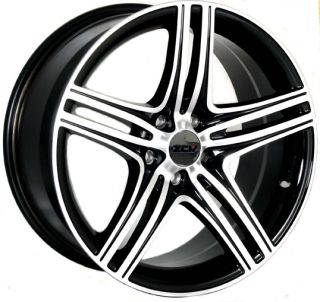 "18"" ZCW ZM1 4 Gloss Black Polished Face Alloy Wheels for Mazda CX 9 8 5J511445GA"