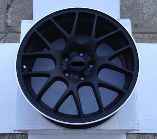 "Wheels 18"" Chr Style Rims Matte Black Infiniti G35 G37 FX Coupe Sedan Covertible"