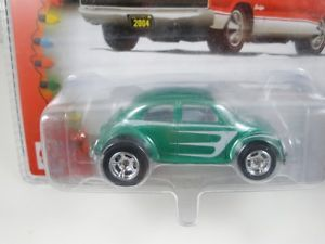 Hot Wheels Limited Edition Holiday Rods VW Beetle Green
