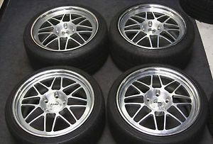"Rial 19"" Wheels Rims Tires Porsche Carrera 911 993 996 997 Boxster s Cayman"