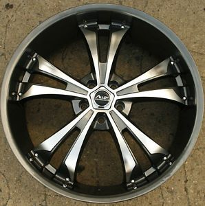 Alloy Tech AT306 22 x 8 0 Gunmetal Rims Wheels Infiniti FX35 FX45 03 Up 5H 35