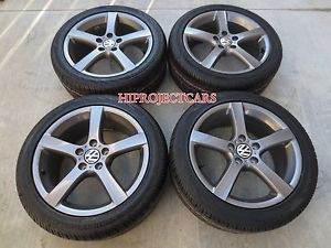 Factory Volkswagen Jetta 17'' Wheels Tires VW Audi Rabbit Golf
