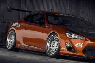 "18"" Scion FRS Avant Garde M220 Silver Staggered Wheels Rims"
