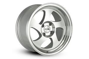 Whistler KR1 Wheels Rims 15x8 4x100 20 Offset Machined 531 Civic Integra Scion