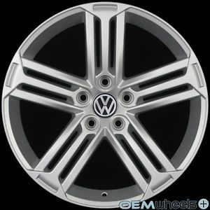 "18"" Golf R Style Wheels Fits VW Golf Jetta MK5 MKV MK6 Mkvi Sportwagen Rims"