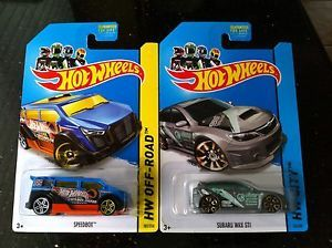 2014 Hot Wheels Treasure Hunts Speedbox Subaru WRX STI