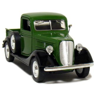 1937 Ford Pickup Sunnyside Ltd Diecast 1 34 Scale Green w Black