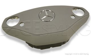 Mercedes Benz s Class W221 CL Class W216 Leather Covered Airbag Cover