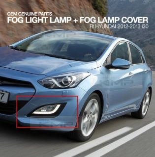 Genuine Parts DRL Fog Light Lamp Fog Lamp Cover Fit Hyundai 2012 2013 I30