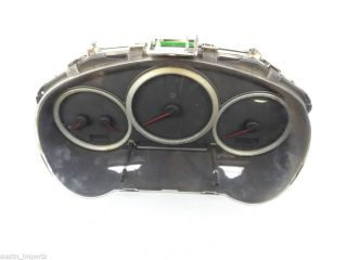 Subaru WRX STI Gauge Cluster Speedometer Parts Only Sold as Is Factory Damaged