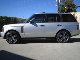 "New 2011 Range Rover 22 22"" Wheels Rims HSE Sport LR3"