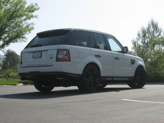 Range Rover 22 Wheels Tires