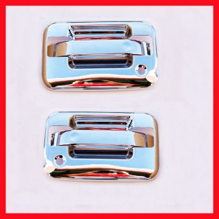 04 11 Ford F150 Chrome 2 Door Handle Covers Bezel 2K HS