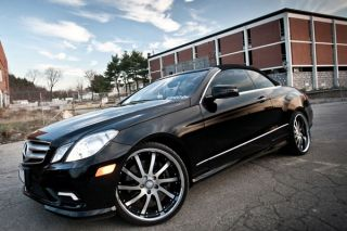 "20"" Mercedes Benz CL500 CL600 CL63 Roderick RW4 Machined Concave Rims Wheels"