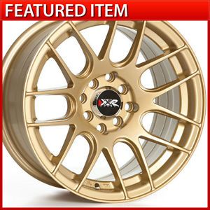 XXR 530 15 15x8 4 100 4 114 3 20 Gold Wheels Rims Honda Civic 88 00 Integra E30