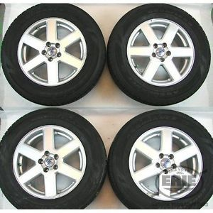 4 Volvo 17x7 5 Neptune Alloy Rims Wheels Good Year Tires Caps for XC90 03 12