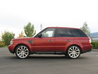 "Land Range Rover 22"" Wheels Rims Tires Package New Silver MAR550 Supercharged"