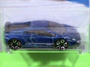 Hot Wheels Lamborghini Gallardo LP 570 4 Superleggera Blue New Release for 2013