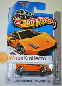 Lamborghini Gallardo LP 570 4 Orange 2013 Hot Wheels E Case USA 746775110796