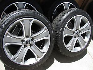 "4 New 2013 20"" Range Rover Sport Supercharged Wheels Tires Land TPMS"