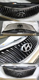 Chrome Front Radiator Grille Genuine Parts for Hyundai azera 2012 2013 2014