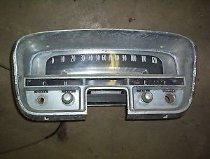 1956 Cadillac DeVille Fleetwood Interior Speedometer Gauge Panel Insert Parts