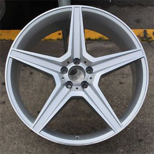 "22"" Mercedes Benz Style Wheels R350 ML350 500 GL450 550 Set of 4 Rims 22x10"